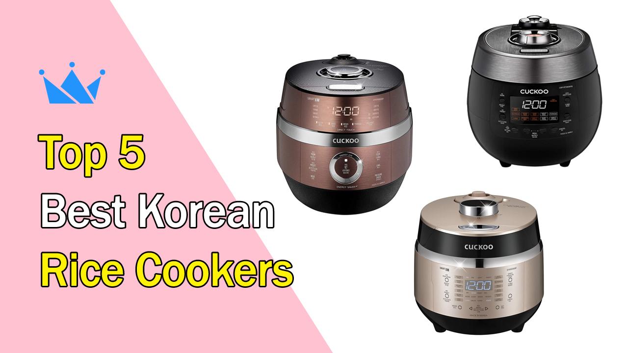 Top 5 Best Korean Rice Cookers Korean Drama Queens